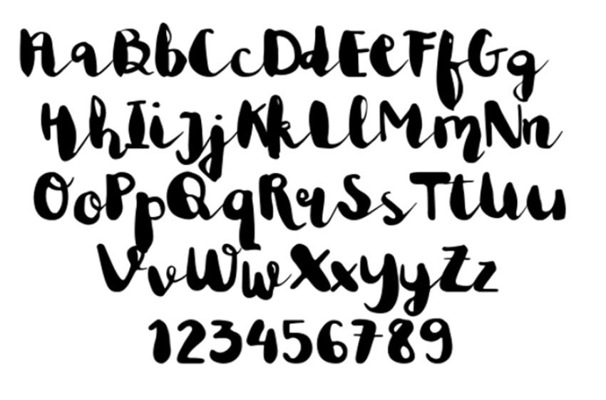 Astrud Miller Free Wedding Cursive Font