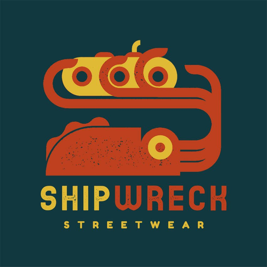 Streetwear Logo Maker Featuring a Kraken Illustration