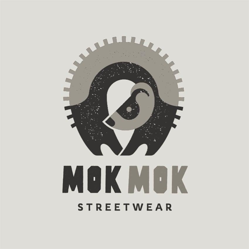 Streetwear Brand Logo Featuring an Illustration of a Ferret