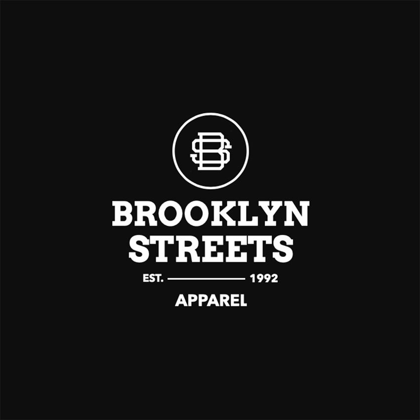 Streetwear Logo Ideas with a Simple Layout and a Circular Banner