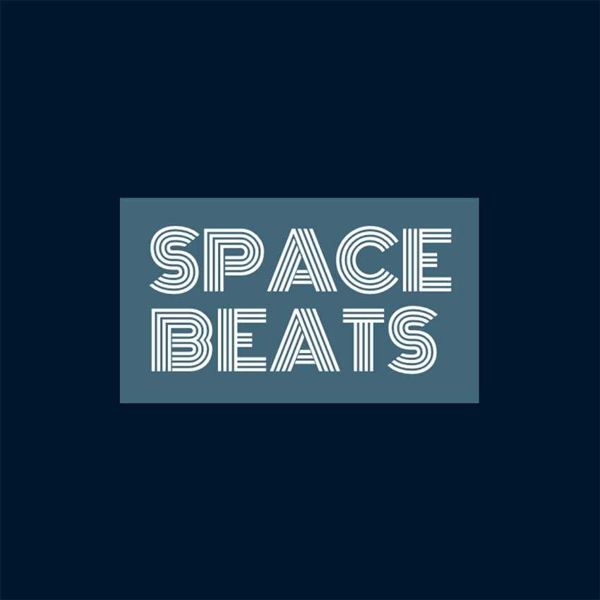 Minimal Typography Logo Generator for a Music Channel Featuring a Retro Font