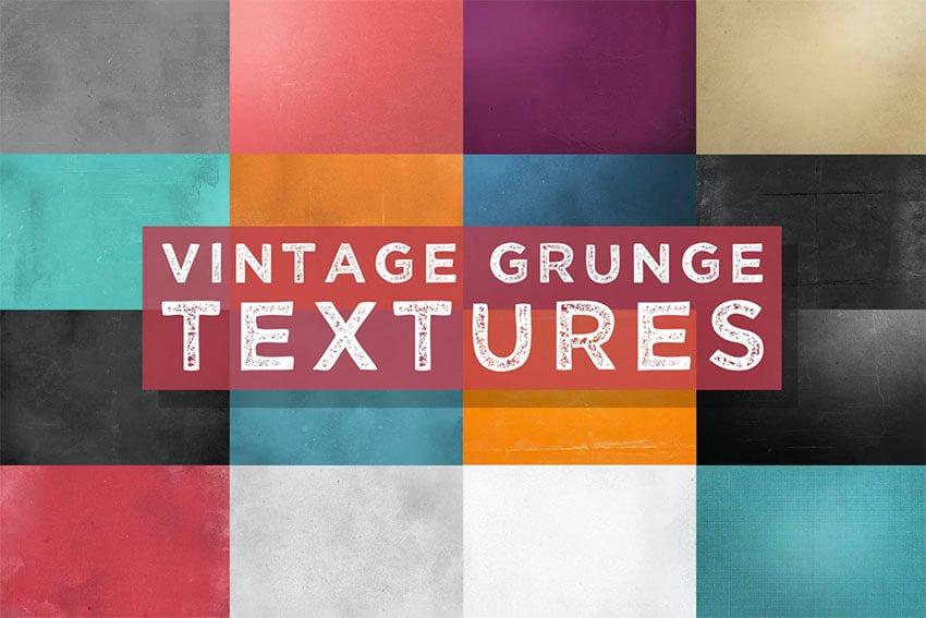 Vintage Overlay Grunge Textures