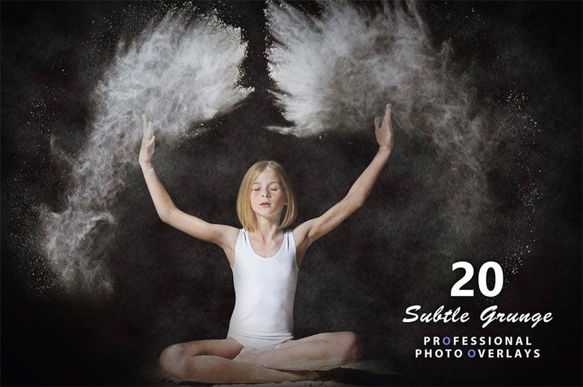 20 Subtle Grunge Photo Overlays
