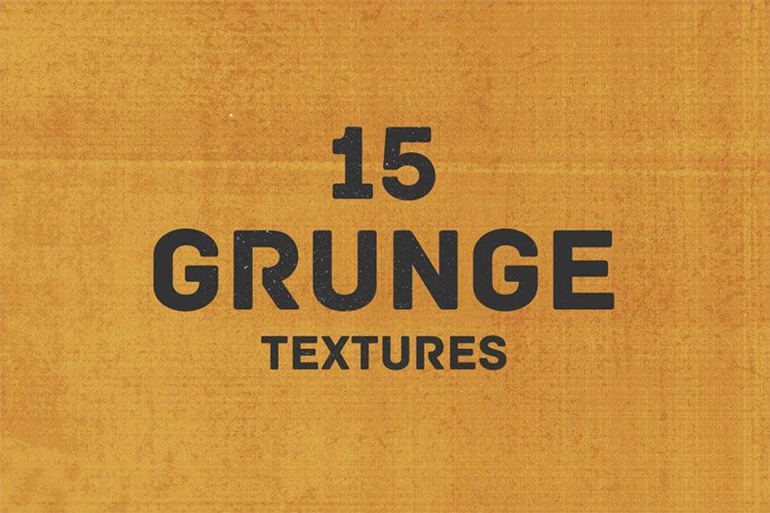 15 Grunge Texture Background