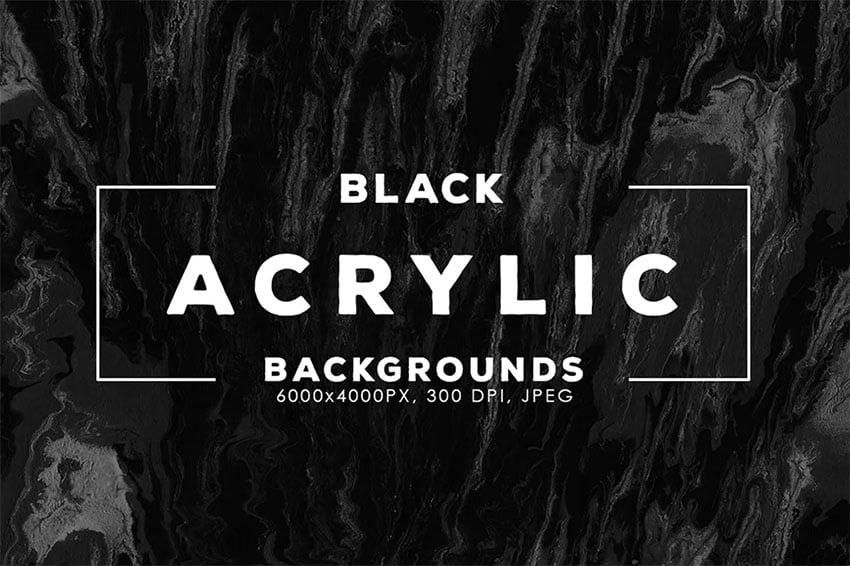 Black Grunge Texture Backgrounds