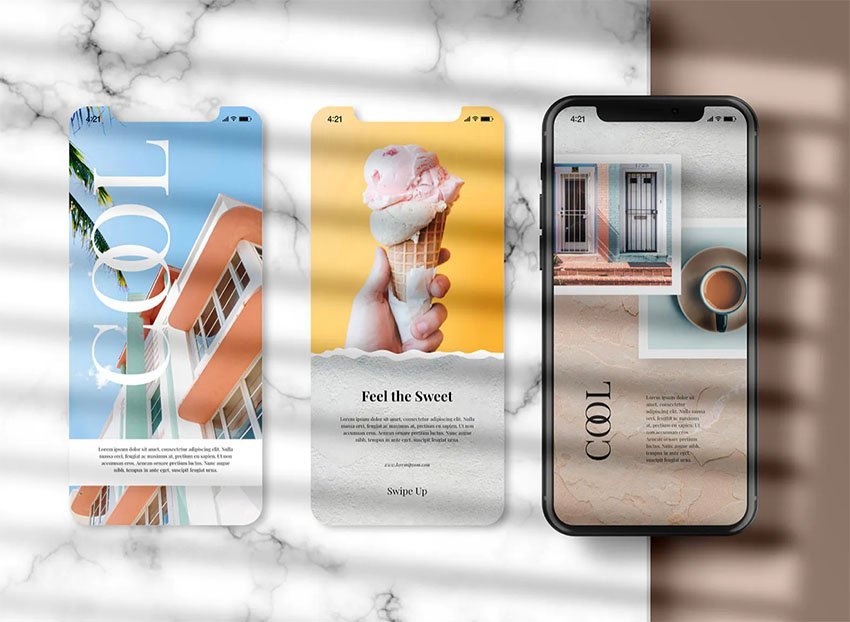 Instagram Post iPhone Mockup for iPhone