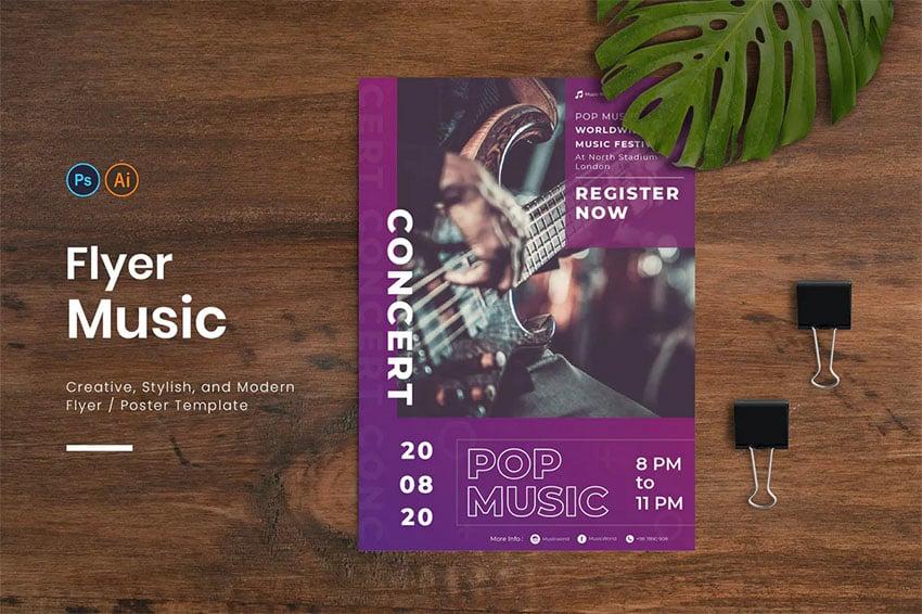 Music Flyer Design