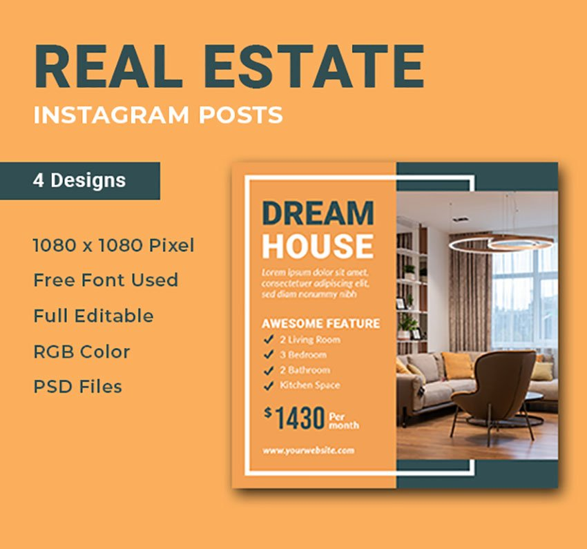 Real Estate Infographic for Instagram