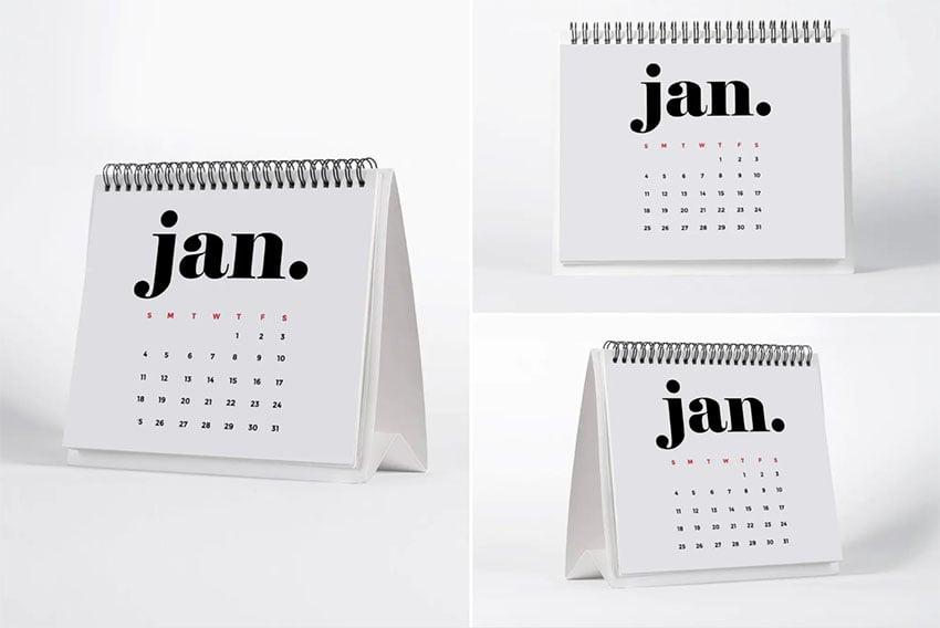 Desktop Monthly Calendar