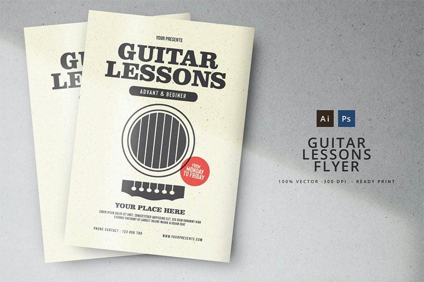 Music Lesson Flyer Ideas
