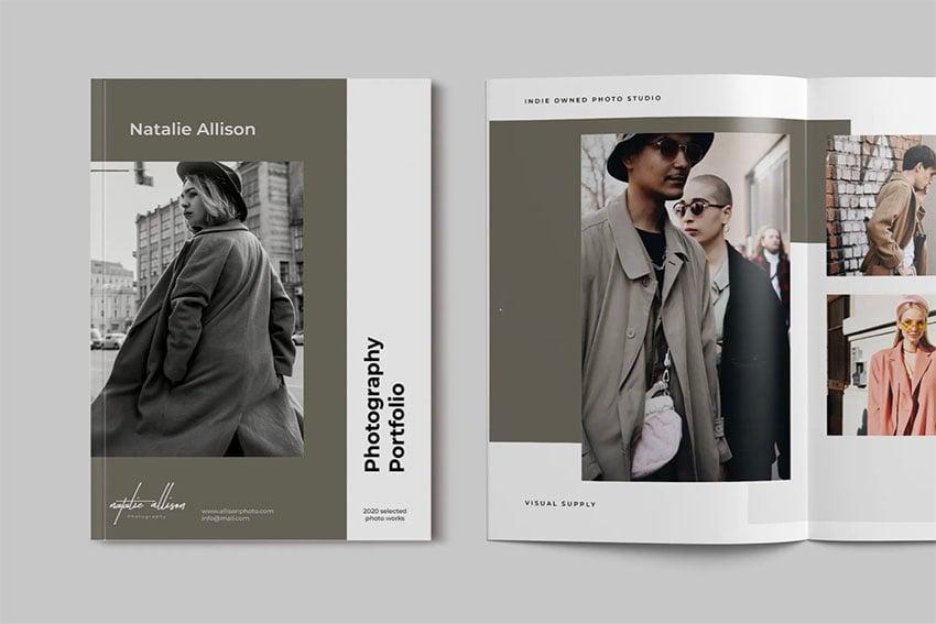 Photography Portfolio Custom Booklet