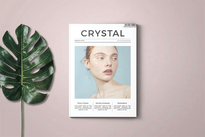 Crystal Booklet Design Template