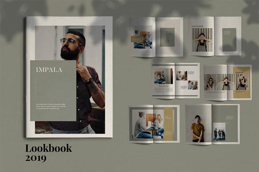 Impala Booklet Design Template