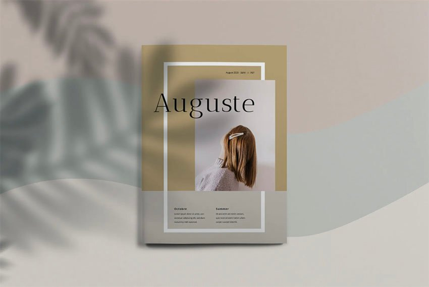 Booklet Layout Template