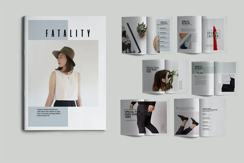 Fashion Booklet Maker Template