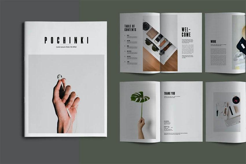 Pochinki Booklet Template