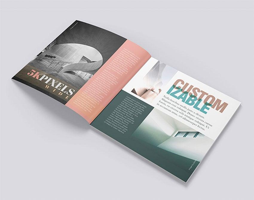 Customisable Booklet Design