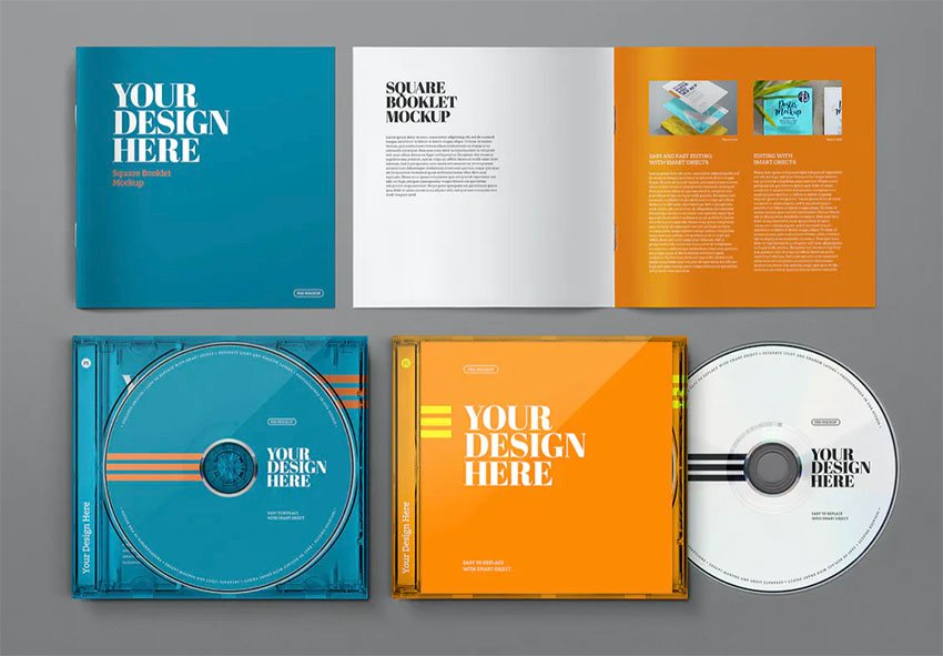 CD Booklet Template