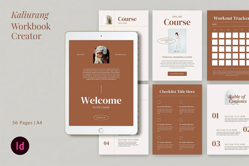 Kaliurang InDesign eBookTemplate