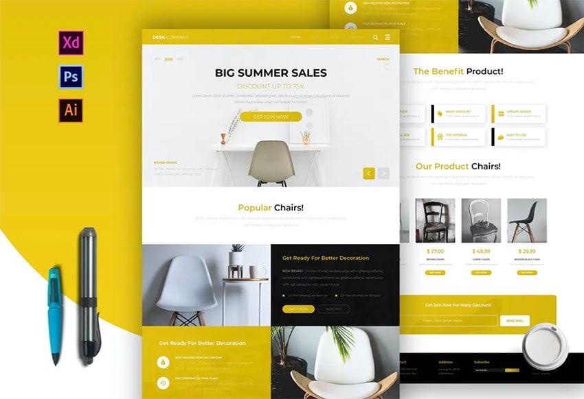 Desk Company | Newsletter Template