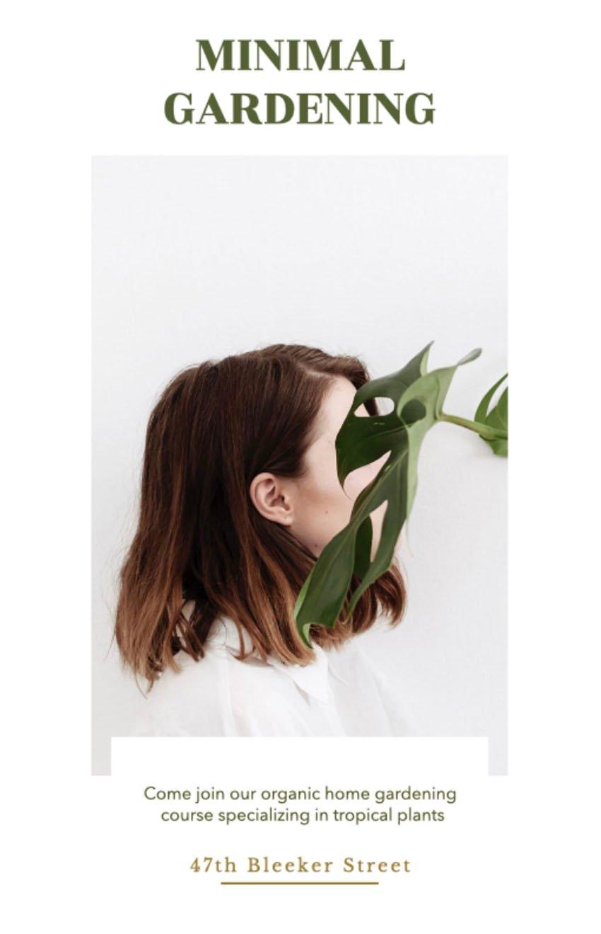 Minimal Gardening Leaflets