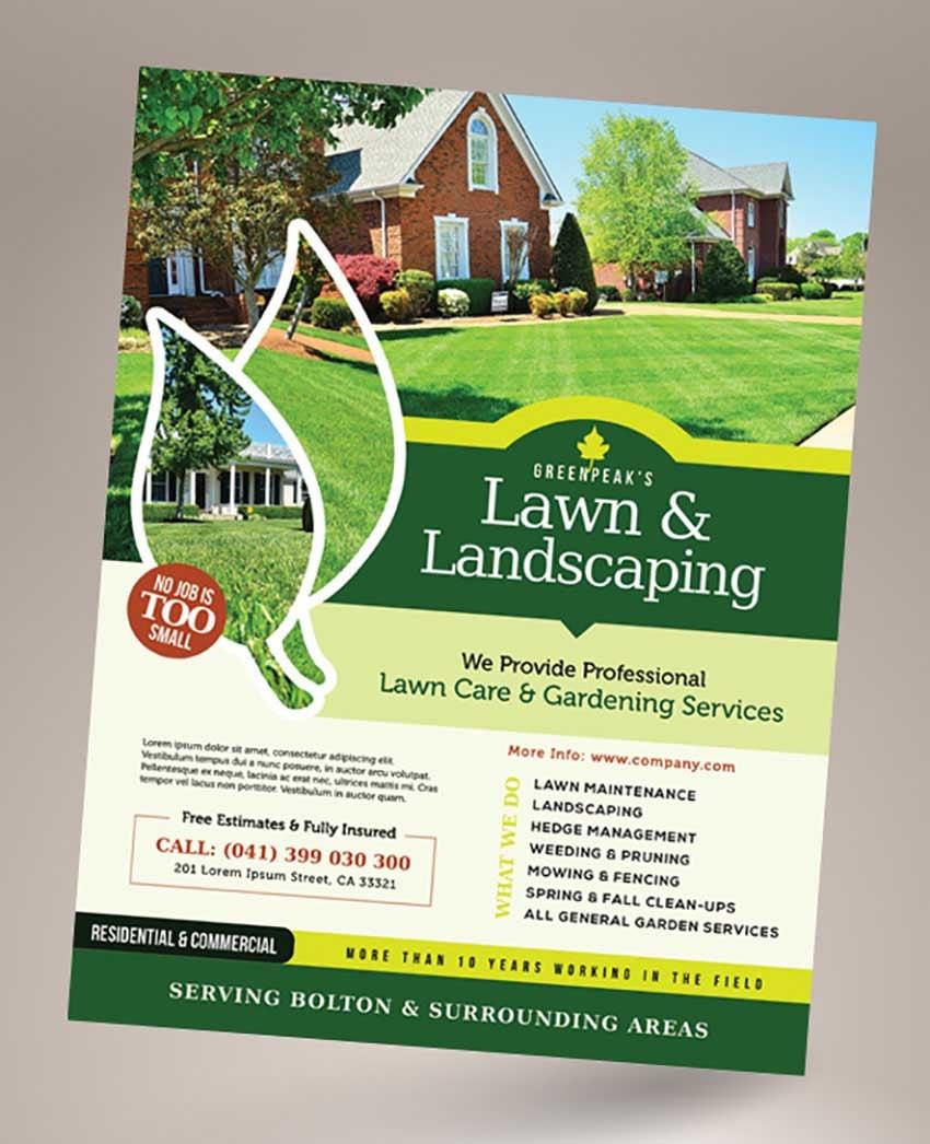 Landscaping Business Flyer