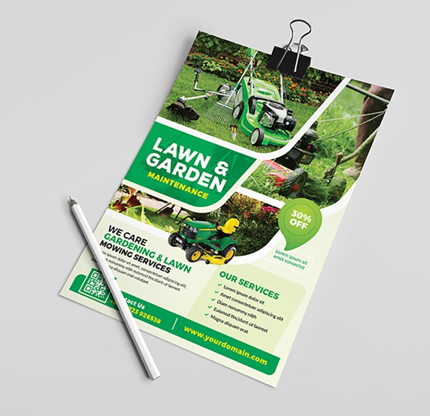 Landscaping Flyers