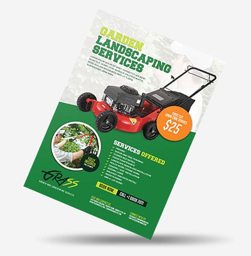 Landscaping Flyer Ideas