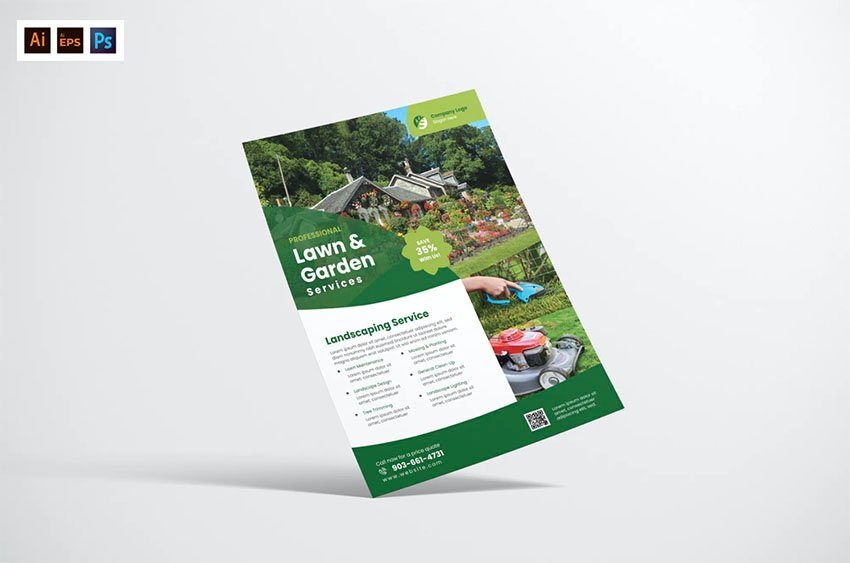 Lawn and Garden Services Flyers