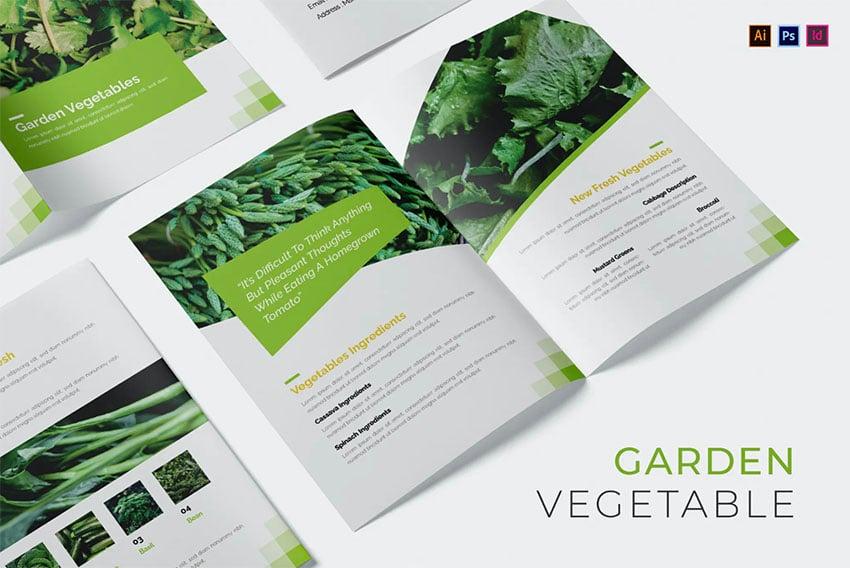 Garden Vegetable Landscaping Flyers