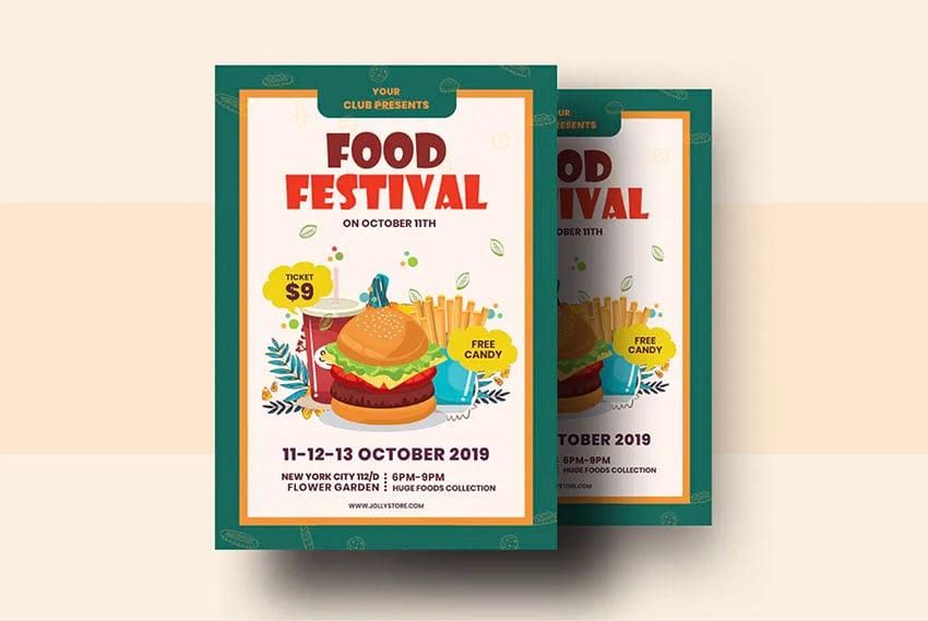 International Food Festival Flyer Template