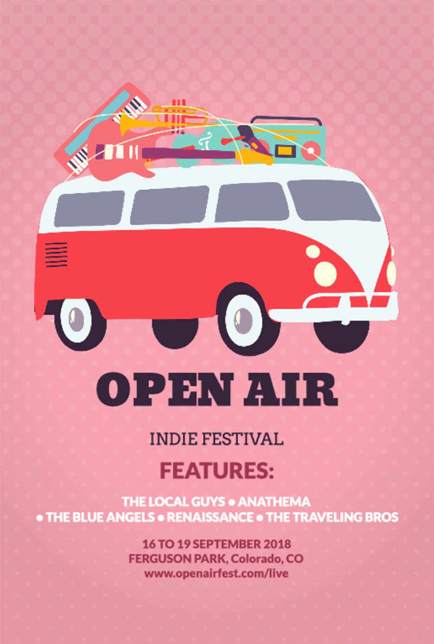 Festival Flyer Design