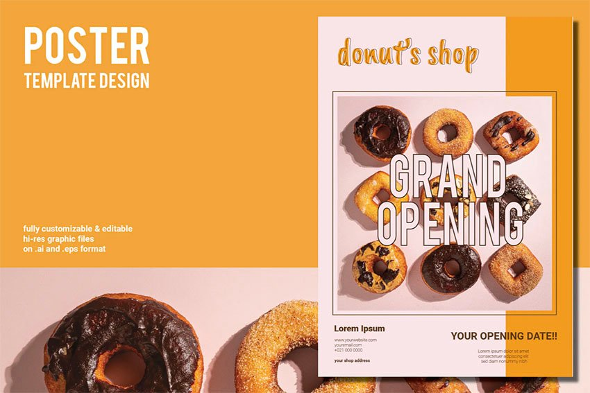 Donut's Shop Grand Opening