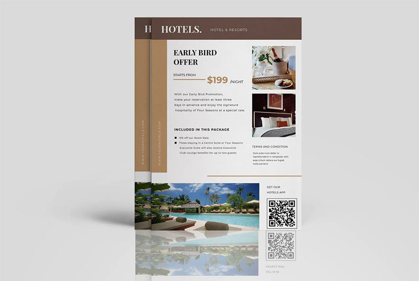 Spanish Hotel Brochure Project