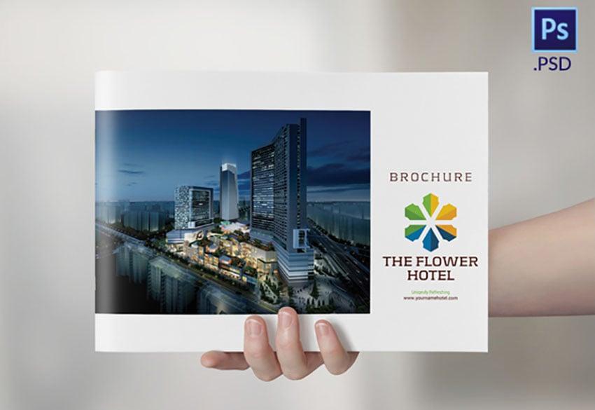 Colourful Hotel Brochure PDF Download
