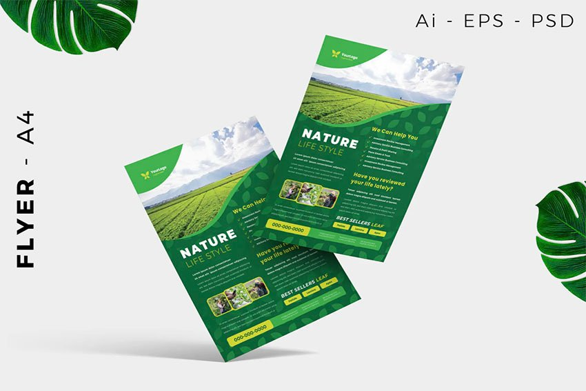 Lawn Care and Gardening Flyers