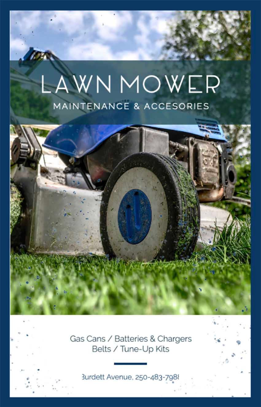Mowing Business Flyers