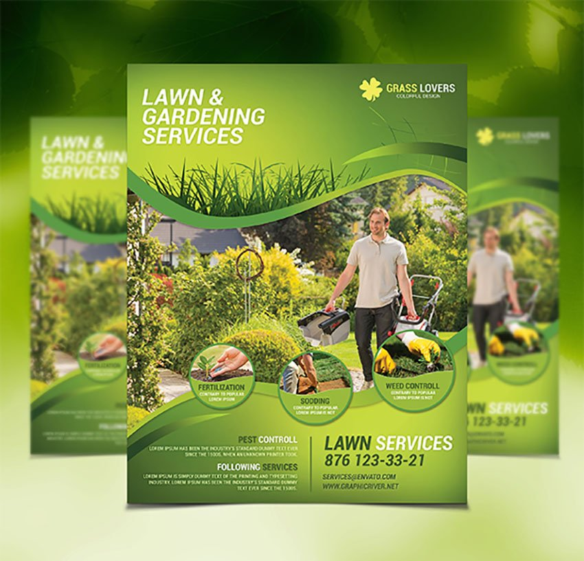 Lawn Care Flyer Template