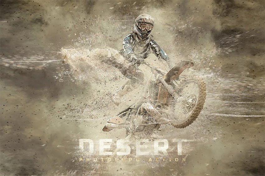 Desert Photoshop Action