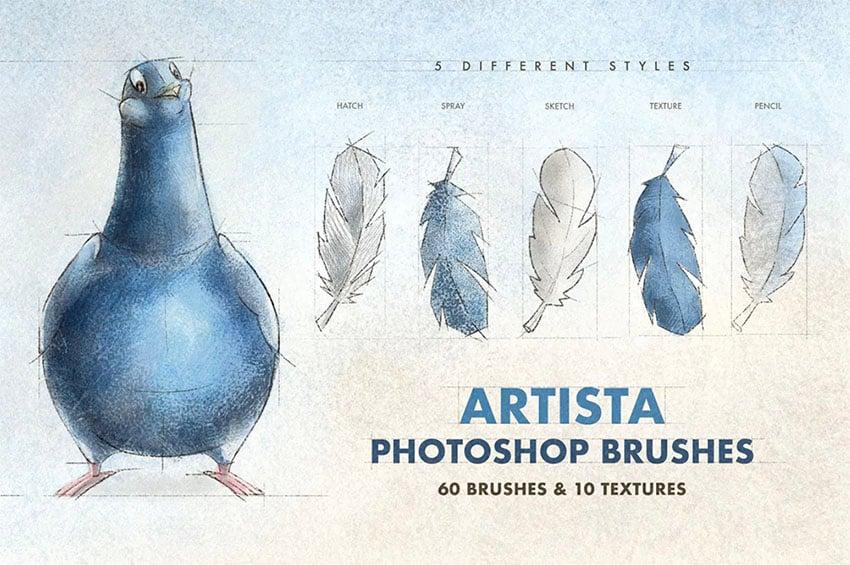 Artista Photoshop Brushes