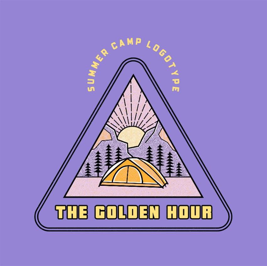 Summer Children Camp Logo