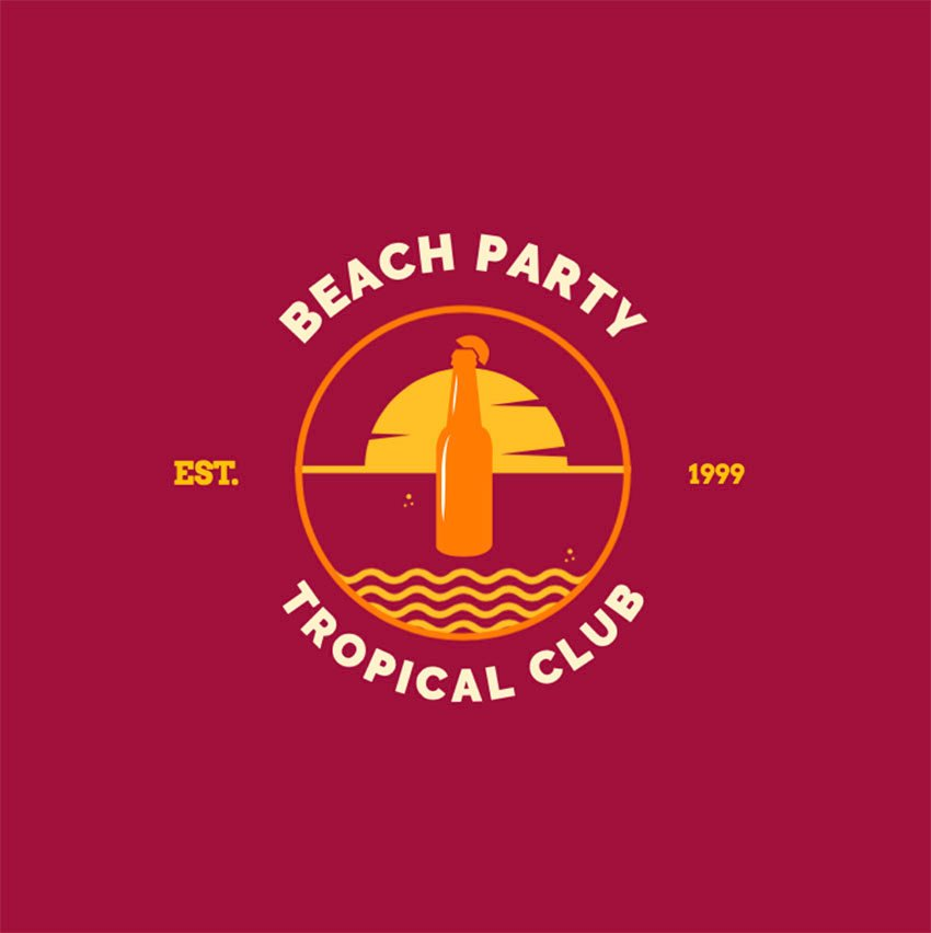 Logo Tropical Island