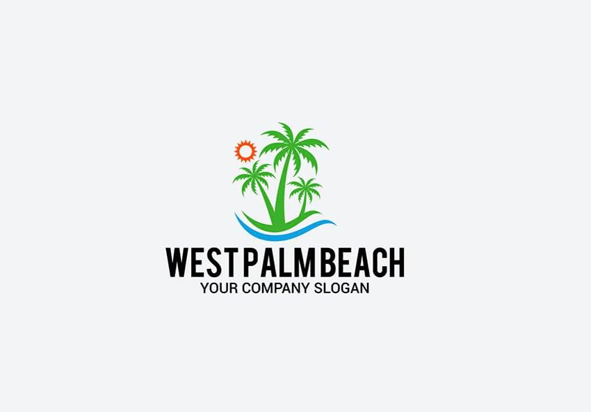Palm Tree Graphic Design