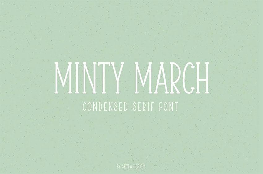 Serif Handwritten Font