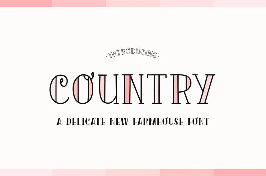 Country Font Duo