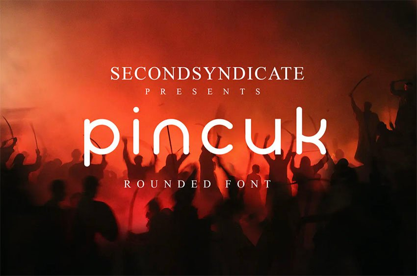 Pincuk Sans Serif Round Font