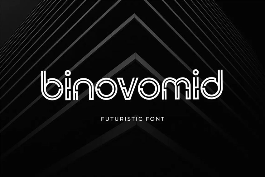 Binovomid Sans Serif Round Font