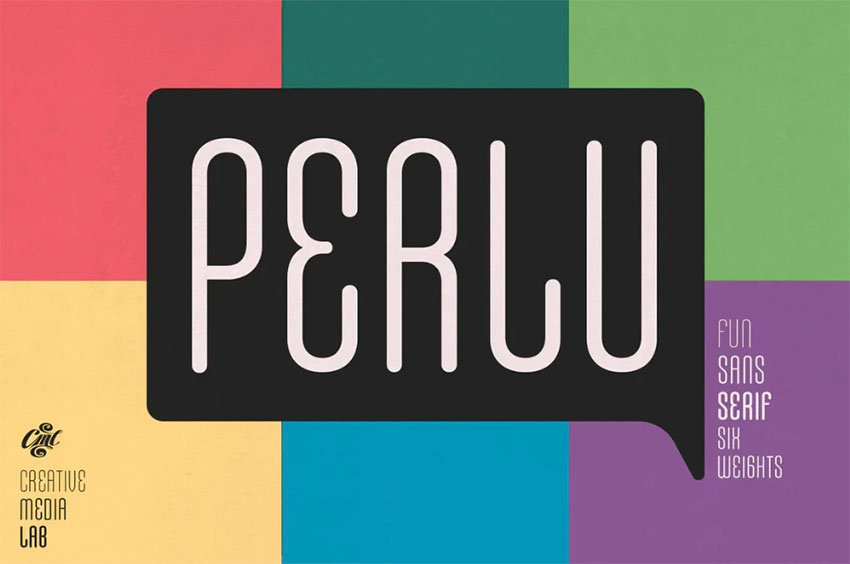 Perlu Popular Rounded Font