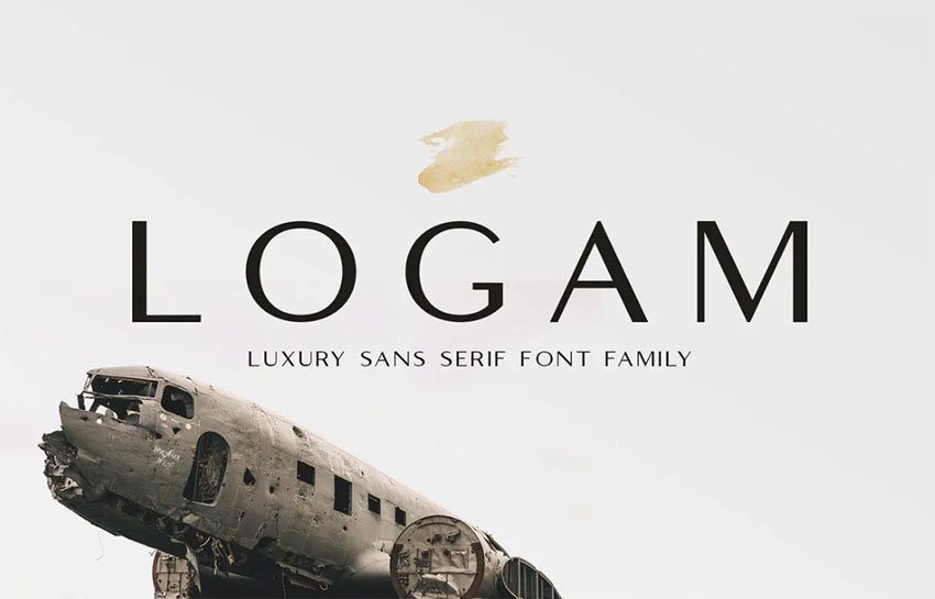 Logam - Luxury Sans Serif Font Family