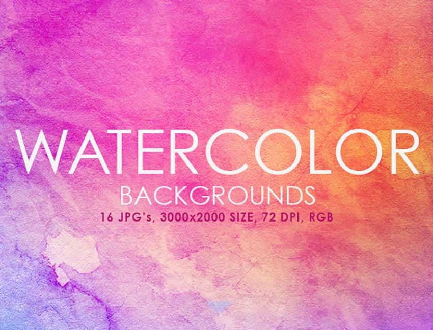 Warm Watercolor Background Ideas
